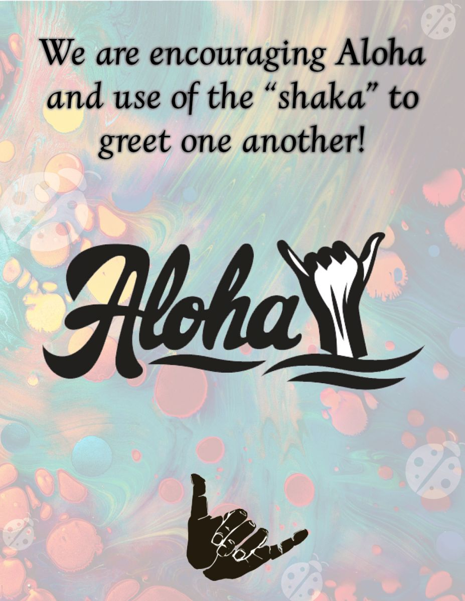 We are encouraging Aloha and use of the